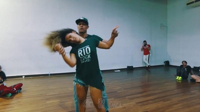 Ruana Vasquez Jota - Demo aula intermediário (VII Rio Zouk Congress)