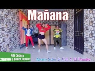 Mañana by Alvaro Soler & Cali Y El Dandee 🎶   Zumba & Dance workout Choreography   Rulya Masrah