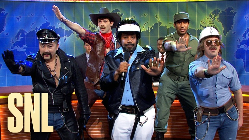Weekend Update The Village People on Donald Trump Using Their Music SNL