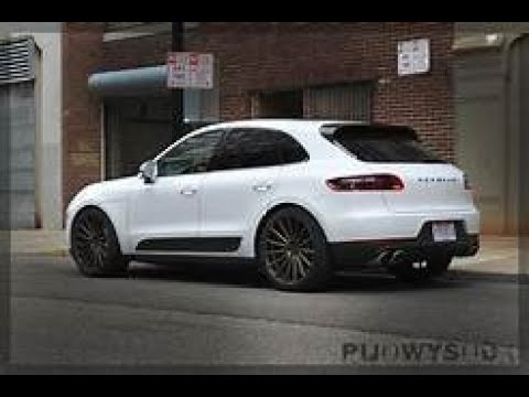 Porsche Macan Muffler - delete all details drone, power, driving