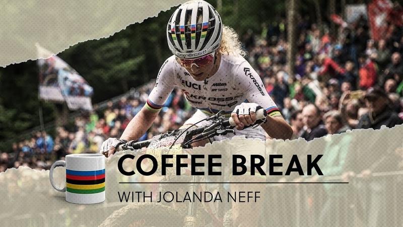 Coffee break with Jolanda Neff