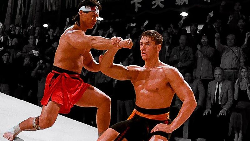 Жан Клод Ван Дамм Фрэнк Дюкс против Боло Йена Чонг Ли Van Damme F Dux vs Bolo Yeung C Li