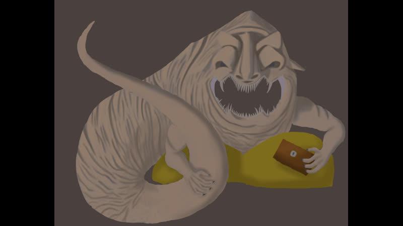 Рисуем босса дарксоус алчный демон с лоускилом стрим 4