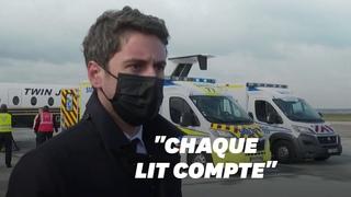 Covid-19: une centaine d'évacuations sanitaires depuis l'Île-de-France la semaine prochaine