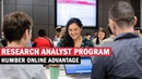 Research Analyst Program: Humber Online Advantage