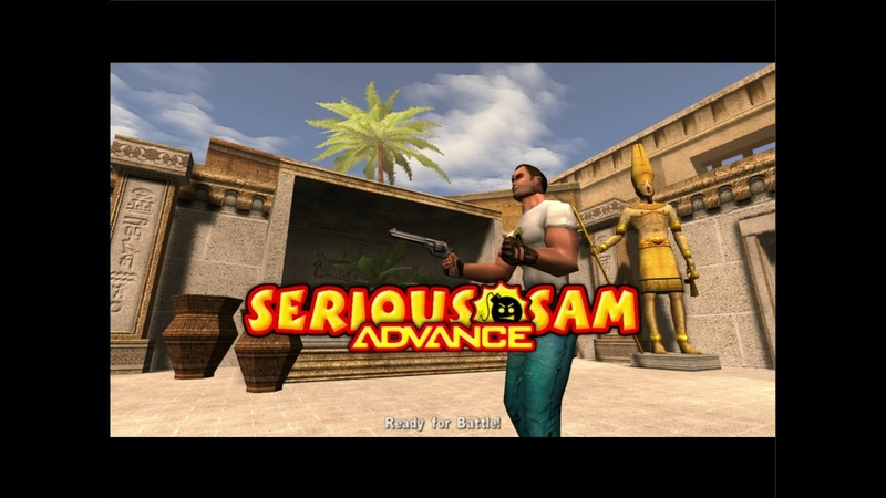 Serious Sam Advance Remake - Temple of Herkat Upper [Normal Difficulty]