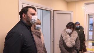 Завершен капитальный ремонт Рыболовской амбулатории.