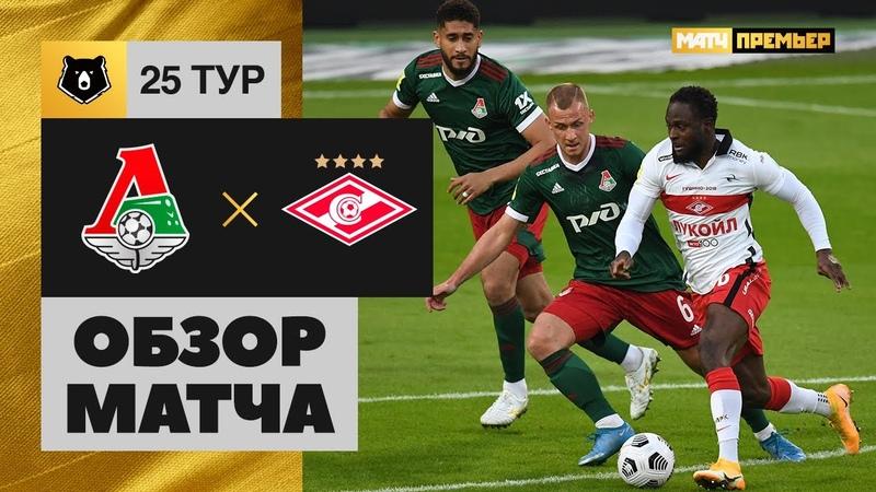 11 04 2021 Локомотив Спартак Обзор матча