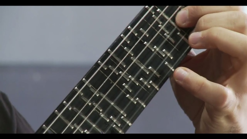 Microtonal Guitar Fixed Fret Tolgahan Çoğulu