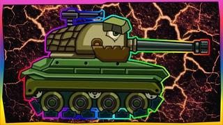 Trò chơi bắn xe tăng quái vật - Quái vật thép Nguyên mẫu của Mỹ | Phim hoạt hình về xe tăng