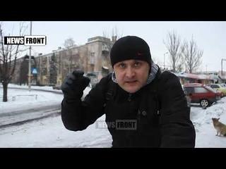 10 января 2016 Житель Дебальцево׃ Мы все принесли жертву, лишь бы жить не с фашистской властью
