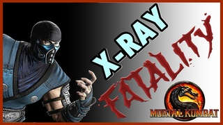 Mortal Kombat 9 Komplete Edition ( PS3 ) : Sub Zero ( Fatalities + X-RAY )