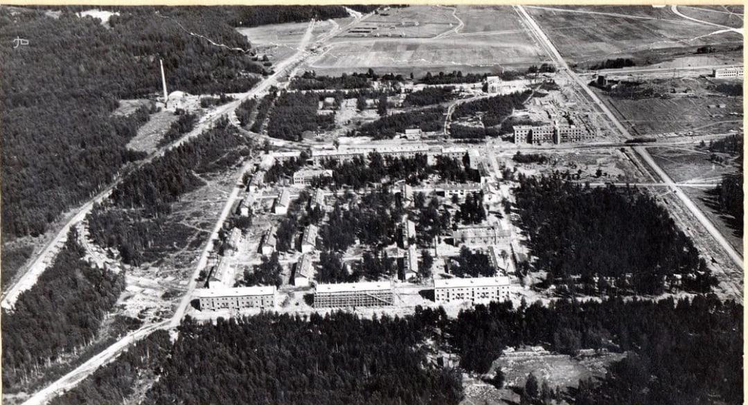 Вид с самолёта, 1938 г.
