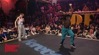 Katya Joy vs Hurrikane 1ST ROUND House Dance Forever Warrior Edition - Summer Dance Forever 2018