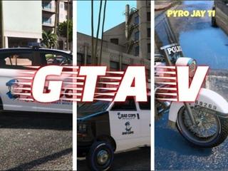 GTA V. Bad Cops LSPD [PS3] 1