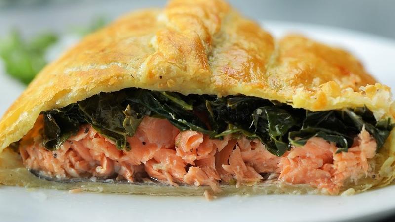 Salmon En Croute Presented by LG USA