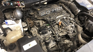 Легко ли обслуживать Citroen? Замена ремня ГРМ Citroen C5 2.0 HDI