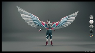 «Сокол и Зимний солдат» (The Falcon and the Winter Soldier) - VFX: THE FALCON