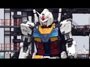 Life sized Gundam in Yokohama Japan is now in testing mode