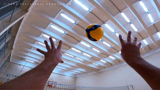 First Person Volleyball Training | HIGHLIGHTS | POV ᴴᴰ