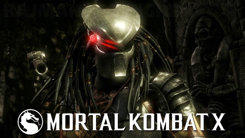 Mortal Kombat X - Predator All Fatalities, Brutalities Ending @ 1080p (60fps) HD ✔