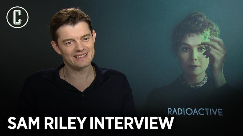 Sam Riley on Radioactive and Ben Wheatley's Rebecca Remake at Netflix