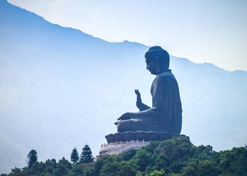 Большой Будда на острове Лантау, Гонконг, изображение №2