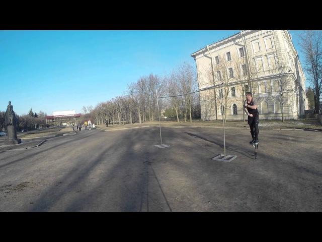 HIGH JUMP FRONT FLIP 2 7 meter by Vlaimir Struy
