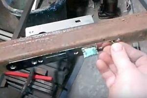 Калитка из металлопрофиля своими руками – схема + порядок выполнения работы, изображение №46