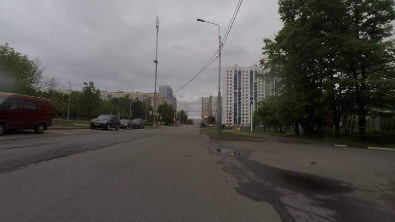 Бутлерова в 5 утра 02.06.2020