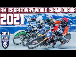 FIM Ice Speedway World Championship 2021. Togliatti. Final, Day 2. Full Race, All Heats