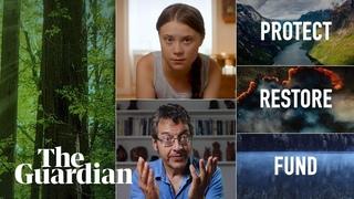 Greta Thunberg and George Monbiot make short film on the climate crisis