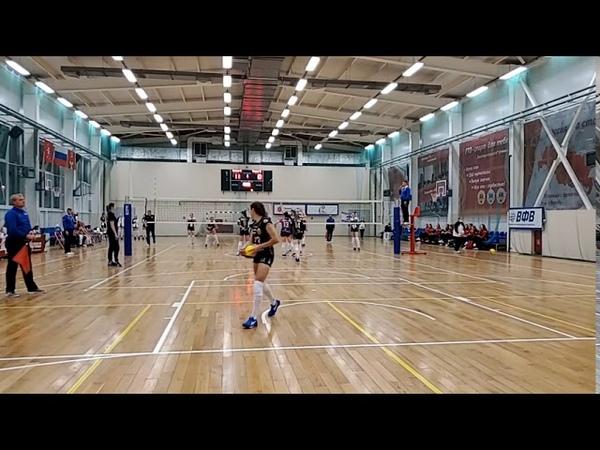 Волейбол женщины кубок Молодежной Лиги 3 й игровой день Динамо ЦРВ Москва Тулица