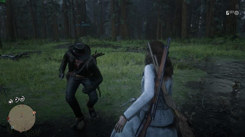 Red Dead Redemption 2 Угараем в онлайне. Скрипаль не в теме