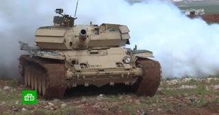 Российские военные учат сирийских танкистов принимать моментальные решения