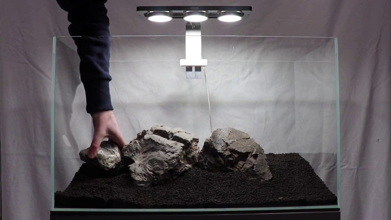 First Look New Aquascape Hardscape Preview Trailer at Aquarium Gardens