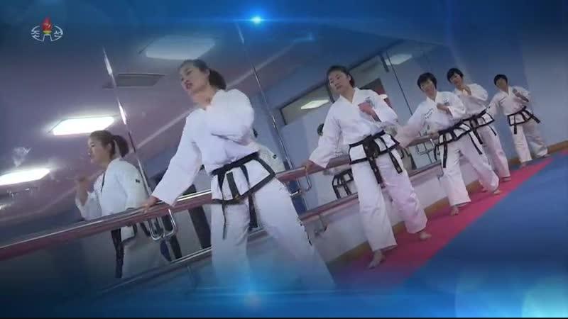 2018년 조선민주주의인민공화국 10대최우수태권도선수들