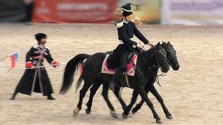 """Хотите драйва? Джигитовка, лошади, казаки, песни и танцы! Ансамбль """"Казачий кордон"""" #ИППОсфера"""