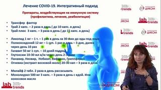 Использование трансфер фактора при COVID   Ольга Труднева