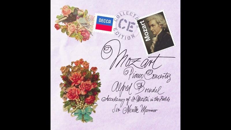 Alfred Brendel plays Mozart Piano Concerto No. 5 in D major, K.175 (HD)