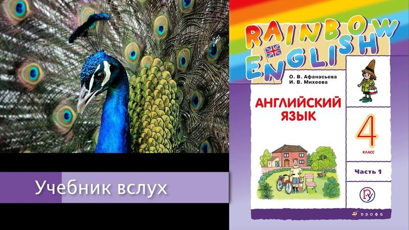 Rainbow English 4 1 Unit 3 Step 1 Английский язык 4 класс ч 1 Афанасьева
