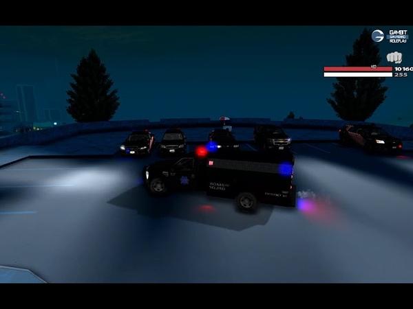 SHW San Fierro Police Department Carpack IVF 2XGumball lightbar