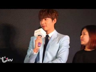 """140111 Lee Min Ho 이민호 - Semir """"Light On Spring"""" Event in Wuhan, China (by. Liloy) 28minutes"""