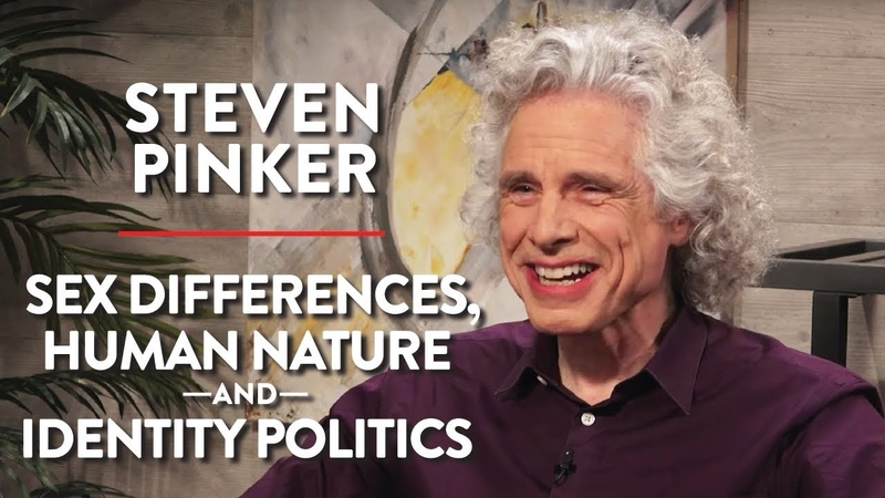 Sex Differences Human Nature Identity Politics Pt 1 Steven Pinker ACADEMIA Rubin Report