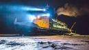К этому кораблю с полярниками, замурованному во льдах, теперь нельзя приближаться.