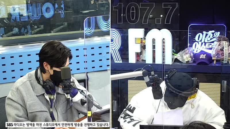 210122 Юнхо на радио шоу SBS Lee Joon's Young Street