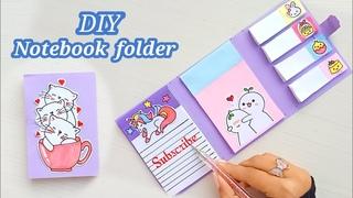 DIY NOTEBOOK FOLDER Organizer - Back to SCHOOL /how to make folder organizer / Diy organizer / DIY