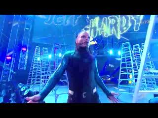 Jeff Hardy vs. Aj Styles vs. Sami Zayn (Ladder Match ~ IC Title)