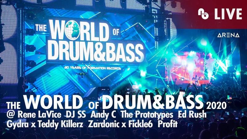 Andy C Gydra x Teddy Killerz Zardonic x Fickle6 @ The World of Drum Bass 2020