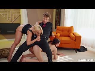 Rosalyn Sphinx, Kylie Kingston - Sit On It [Fucking, Full Mom, MILF, Wife, Big Ass, Incest, зрелые, мачеха, милф, инцест, мамки
